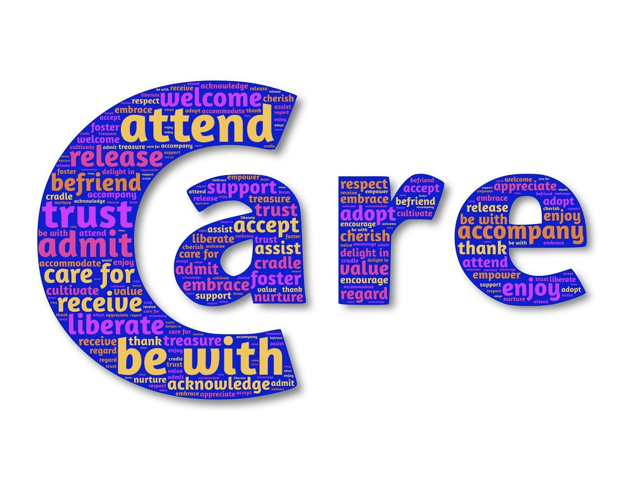 Care cloud tag image by John Hain from Pixabay